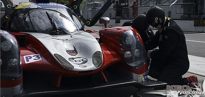 KEO Racing will not see the green flag in Le Mans