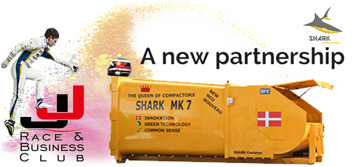 SHARK CONTAINERS JOINS JJ RACE & BUSINESS CLUB FOR 2018 AND 2019 SEASON